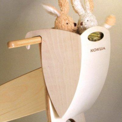 KOKUA Hopper košík na řídítka (překližka)