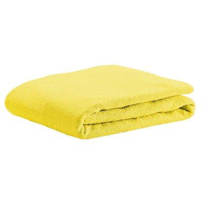 ODENWÄLDER prostěradlo UNI froté žlutá