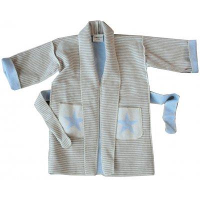 DF JUWEL Kimono 2-4 roky hvězda modrá