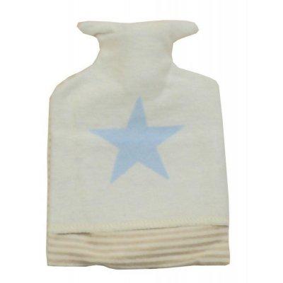 DF JUWEL zahřívací láhev hvězda světle modrá
