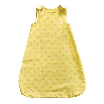 DF IDA spací pytel 1 rok 70cm puntík žlutý
