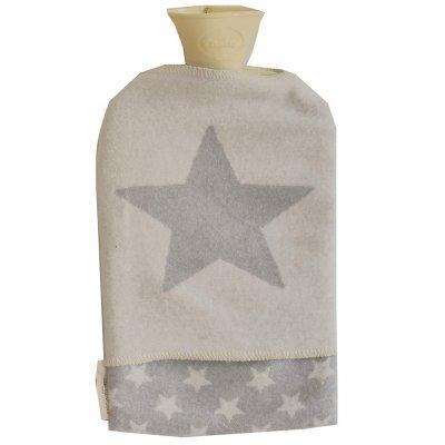 DF JUWEL zahřívací lahev hvězda šedá