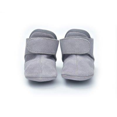 LODGER Walker Leather Basic Light Grey 3 - 6 měsíců