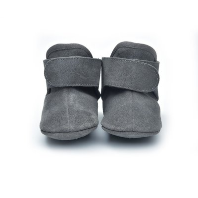LODGER Walker Leather Basic Dark Grey 6 - 12 měsíců