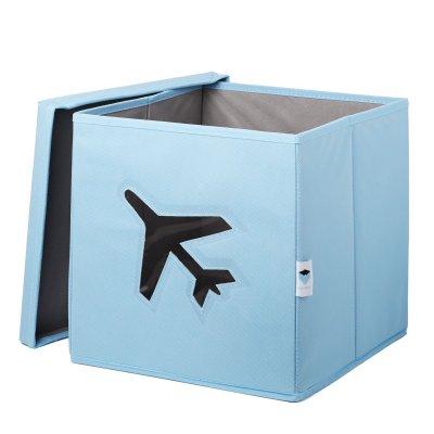STORE IT Box na hračky s okénkem letadlo