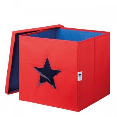 STORE IT Box na hračky s okénkem hvězda