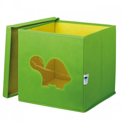 STORE IT Box na hračky s okénkem želva