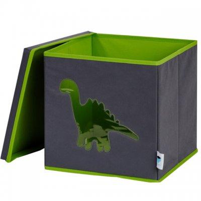 STORE IT Box na hračky s okénkem dinosaurus