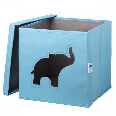 STORE IT Box na hračky s okénkem slon