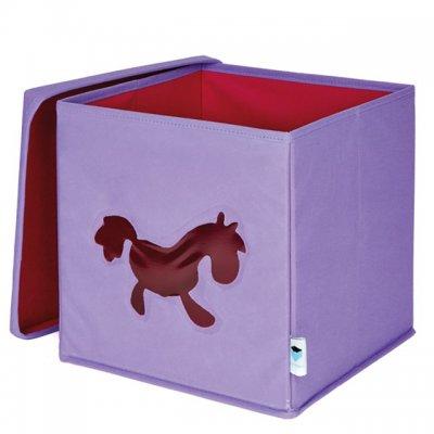 STORE IT Box na hračky s okénkem poník
