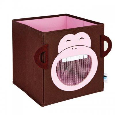 STORE IT Box na hračky se síťkou opice