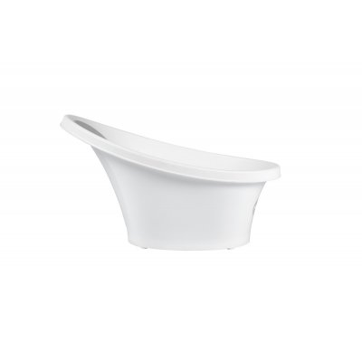 SHNUGGLE Vanička bílá s šedou opěrkou - 22200g_001