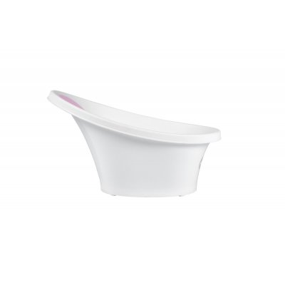 SHNUGGLE Vanička bílá s růžovou opěrkou - 22200r_001