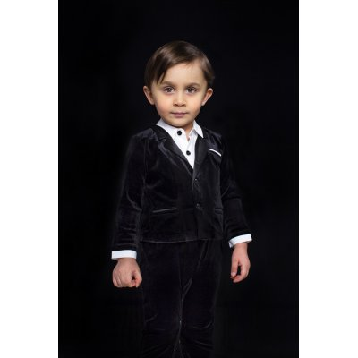 THE TINY UNIVERSE Overal The Ultimate Tuxedo All Black 62 - 25785_001