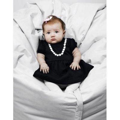 THE TINY UNIVERSE Šaty The Tiny Lady All Black 68 - 25811_001