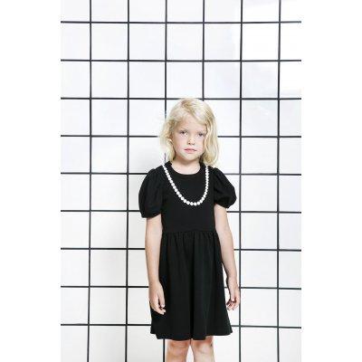 THE TINY UNIVERSE Šaty The Tiny Lady All Black 68 - 25811_002