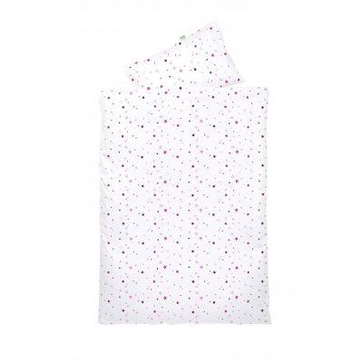 ODENWÄLDER Povlečení Hvězdy 2066 100 x 135 cm pink & black berry