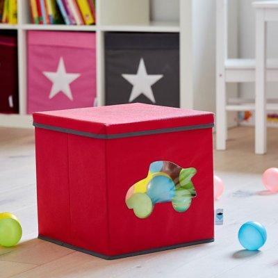 STORE IT Box na hračky s okénkem auto - 27862_002