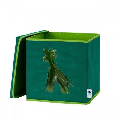 STORE IT Box na hračky s okénkem žirafa