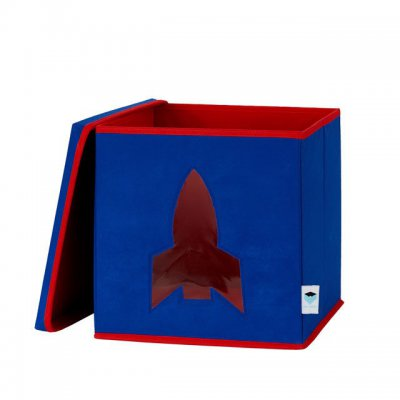 STORE IT Box na hračky s okénkem raketa