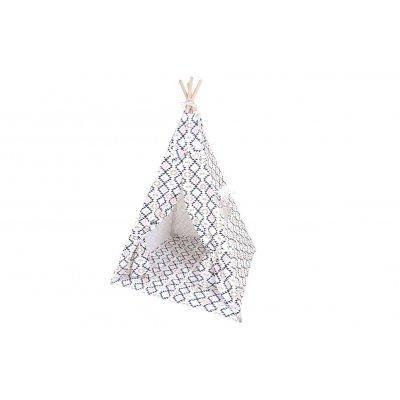 KINDSGUT Dětské teepee skandinávský vzor - 31013sk_001