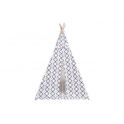 KINDSGUT Dětské teepee skandinávský vzor - 31013sk_004