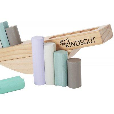 KINDSGUT Dřevěná balanční hra - 31190_004