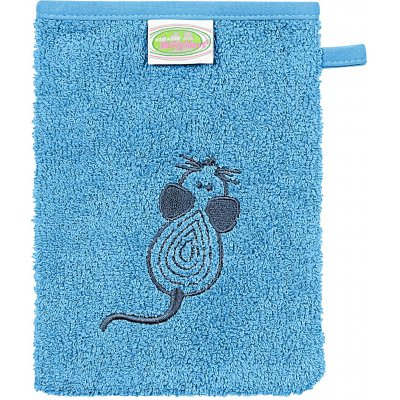 ODENWÄLDER Mycí žínka Mouse aqua