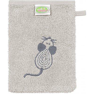 ODENWÄLDER Mycí žínka Mouse grey