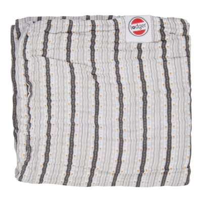 LODGER Dreamer Muslin Stripe Xandu Mist 120 x 120 cm