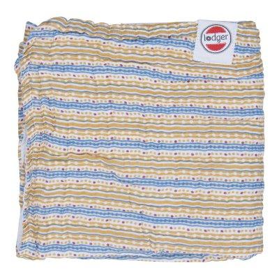 LODGER Dreamer Muslin Stripe Xandu Honey 120 x 120 cm