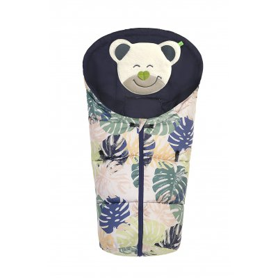 ODENWÄLDER Mucki 2019 fashion tropical leaves powder-green