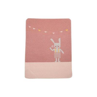 DF JUWEL Dětská deka s výšivkou Hase Rouge