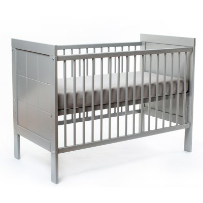 NANNA Postýlka Elle 120 x 60 cm Grey