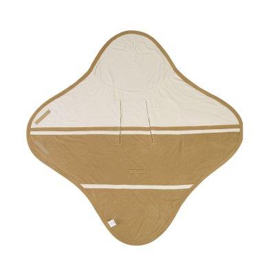 LODGER Wrapper Fleece Empire Dark Honey - 39094_001