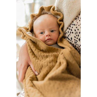 LODGER Wrapper Fleece Empire Dark Honey - 39094_006