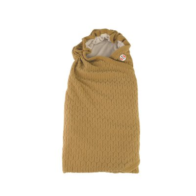LODGER Wrapper Fleece Empire Dark Honey