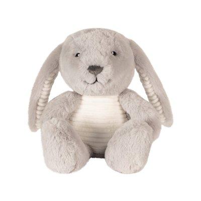 FLOW Hračka s tlukotem srdce Milo the Bunny Grey - 39098_001
