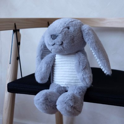 FLOW Hračka s tlukotem srdce Milo the Bunny Grey - 39098_005