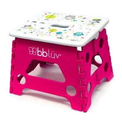 BBLÜV Stäp Skládací stolička Pink