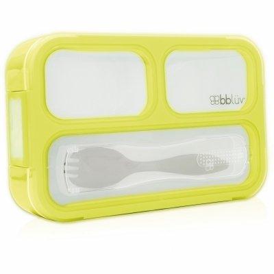 BBLÜV Bentö Obědová krabička s příborem Lime