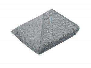 ODENWÄLDER osuška 100x100 s kapucí Grey