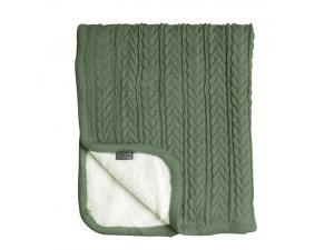 VINTER & BLOOM Deka Cuddly Forest Green