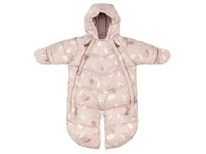 LEOKID Baby Overall Pink Forest 3 - 9 měsíců